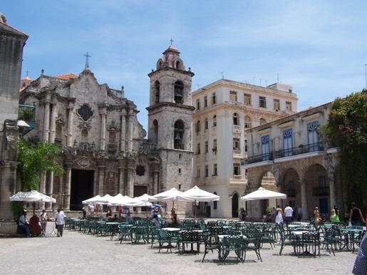 Havanna's Kathedralplatz